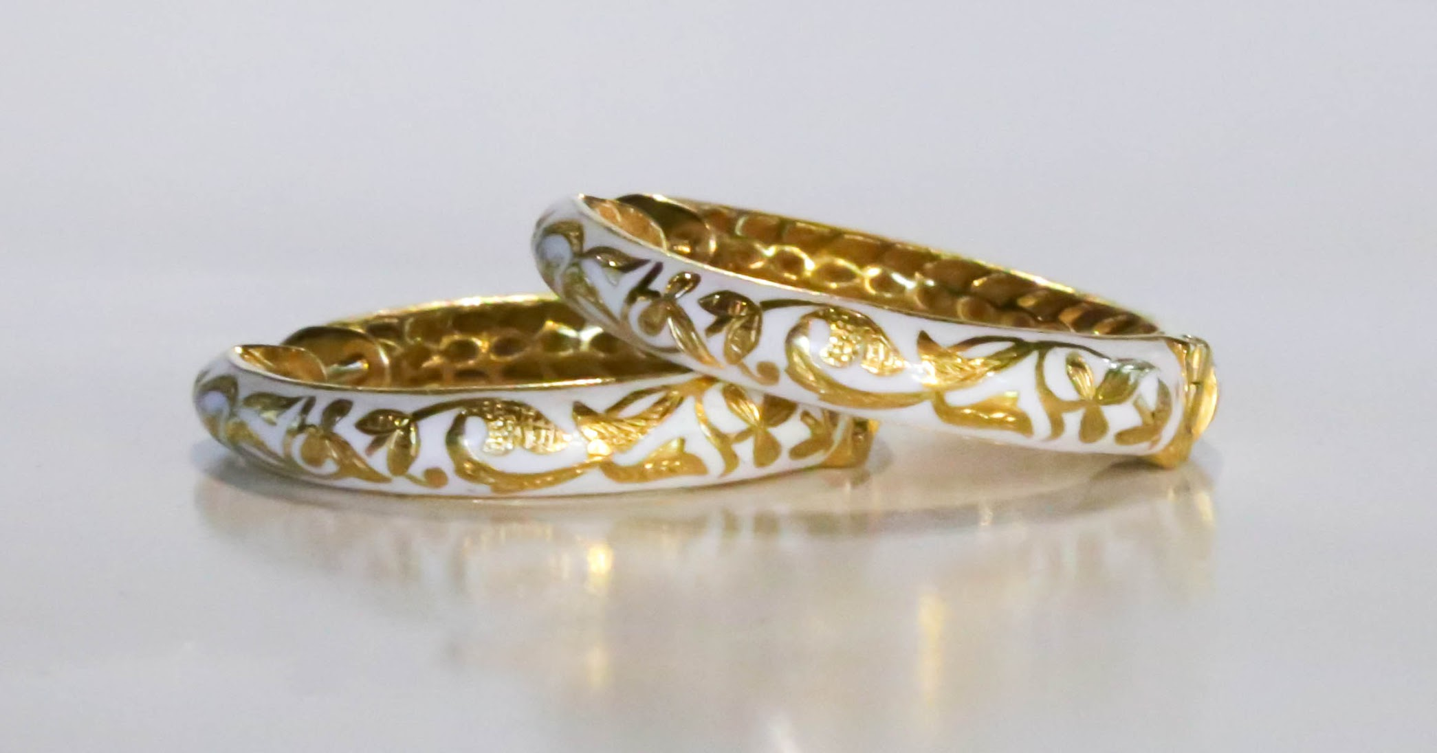product engraved in gold home antique bangle enamel yellow bracelet victorian